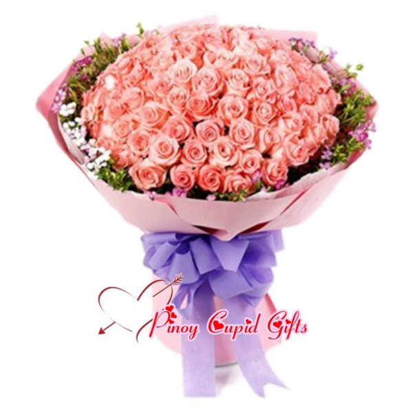 99 Pink Roses 08