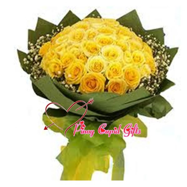 30 Imported Yellow Roses to dazzle that special someone