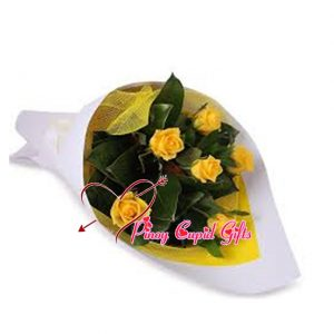 7 Imported Yellow Roses