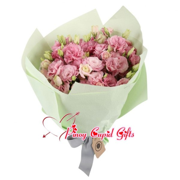 Pink Eustoma Bouquet