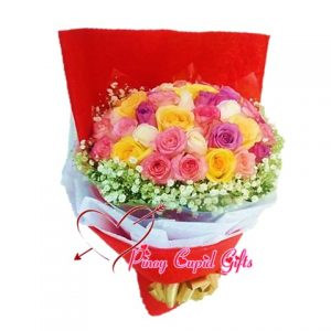 30 Mixed Imported Roses