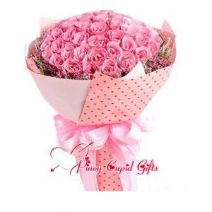 99 Pink Roses 12