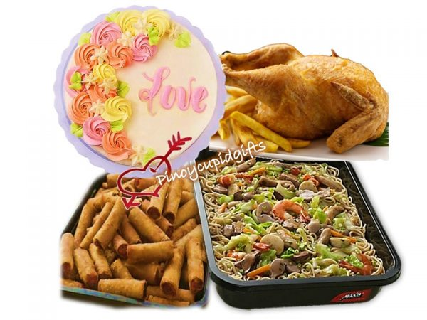 Max's Pancit Canton, Max's Whole Fried Chicken, Max's Lumpiang Shanghai, Max's Message Cake