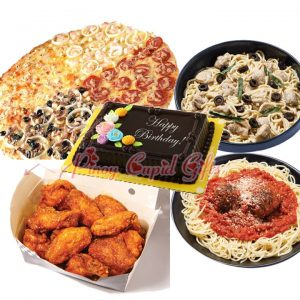 """18"""" New York Style Pizza, Pasta and Wings"""
