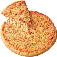 18 Garlic and Shrimp Pizza