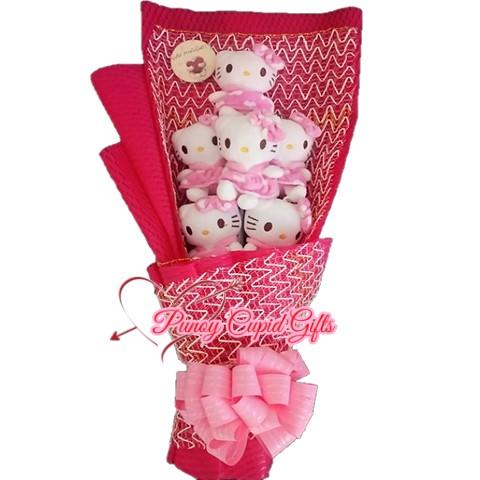 6pcs HK Stuffed Toy Bouquet 03