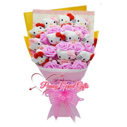 11pcs HK Stuffed Toy Bouquet 14