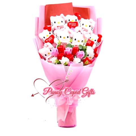 9pcs HK Stuffed Toy Bouquet