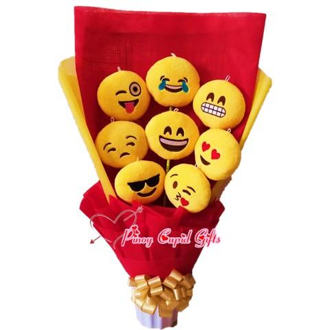 8pcs stuffed toy bouquet