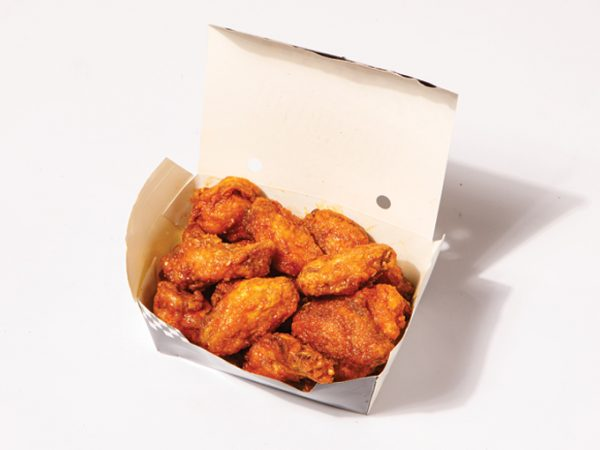 Yellow Cab Chicken Wings