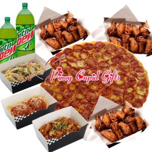 XL Yellow Cab Classic Pizza, 24 Large Wings, 3 Large Pastas, 2 x 1.5l drinks