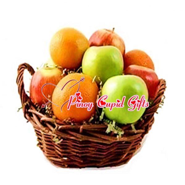 3 green Apples, 3 red Apples, 3 Oranges.