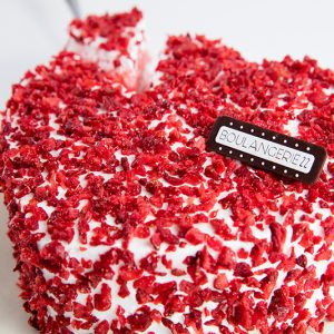 Strawberry love cake by Boulangerie22