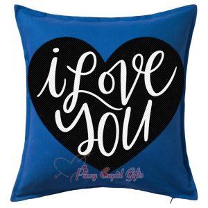 "Blue, ""I Love You Pillow"""