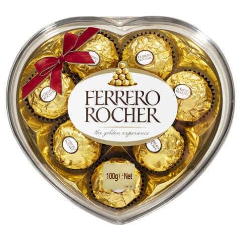 Ferrero Rocher Heart 8s