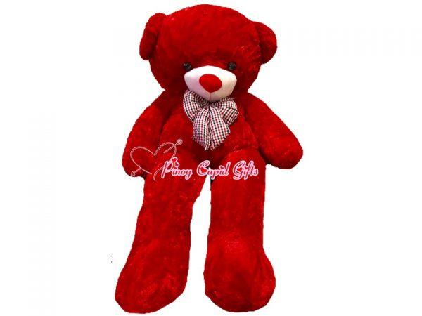 4.5 FT Red Teddy Bear