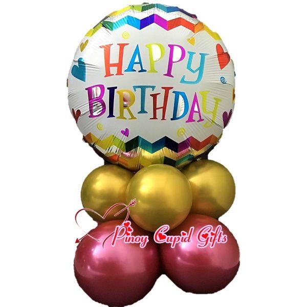 Happy Birthday Mylar Balloons