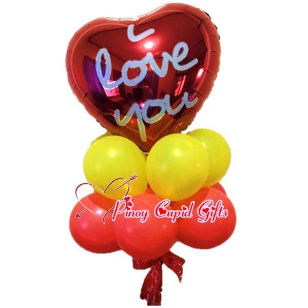 I Love You Mylar Balloons
