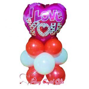 I Love You Mylar Balloons 14
