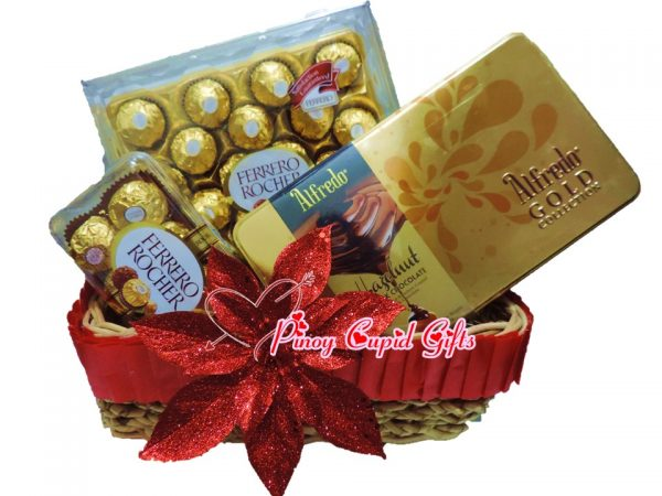 Ferrero & Alfredo Chocolate Gift Basket