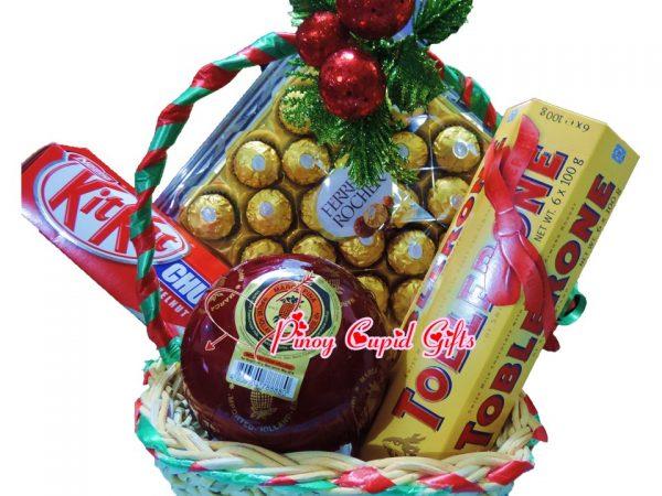 Ferrero, Toblerone, Kitkat Choco and Queso De Bola Ham