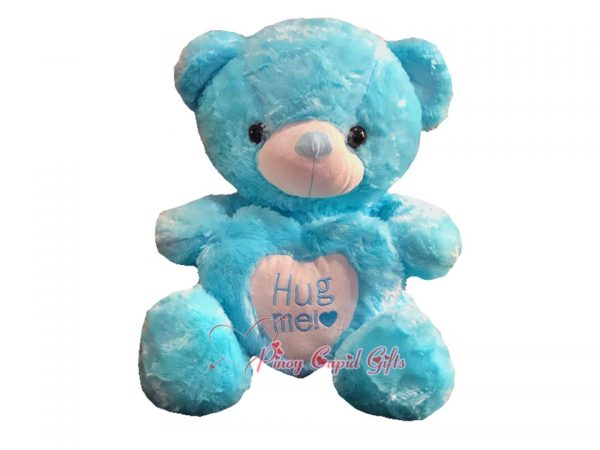 "22"" Blue Hug Me Bear"