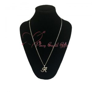 Letter or Initial Necklace for women