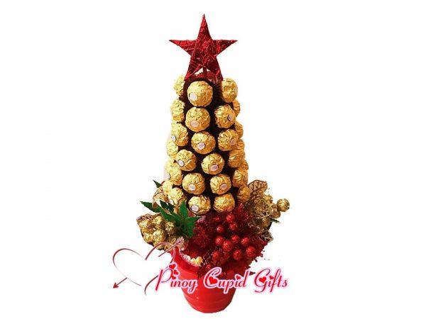 Ferrero Chocolate Christmas Tree