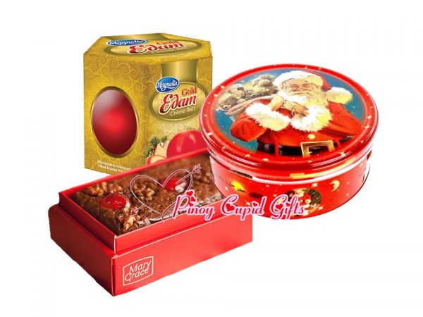 Holiday Fruit Cake, Magnolia Cheese Ball and Holiday Cookies