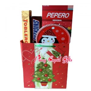 Toblerone Chocolate-200g Peppero Original, 256g (32g x 8packs) Mini-Snickers in Holiday Gift Tin Danish Holiday Cookies, 200g