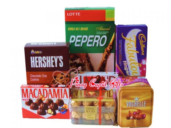 Assorted Chocolates & Cookies Gift Box