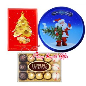 Holiday Chocolate and Cookies plus Ferrero Collection Box