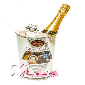 Witor's Gran Gala Paraline Assorted Milk & Dark Chocolate 260g