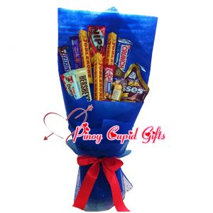 12 pcs Assorted Chocolates Bouquet