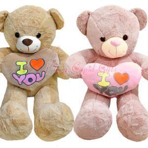 3ft teddy bear with I love you heart