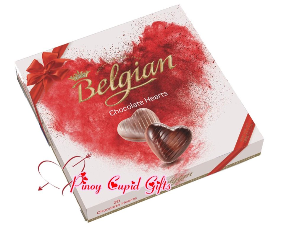 Belgian Heart Chocolate