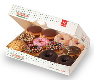 Krispy Kreme Pre-assorted donuts