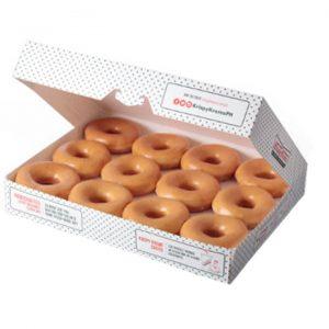 Krispy Kreme-1 Dozen Original Glazed