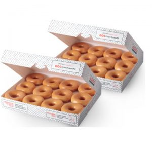 Krispy Kreme-Double Dozen Original Glazed Donuts
