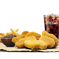 6pcs Chicken Nuggets Meal