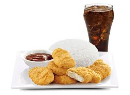 6pcs McNuggets with Rice