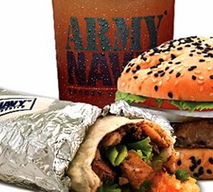 ARMY NAVY BURGER + BURRITO