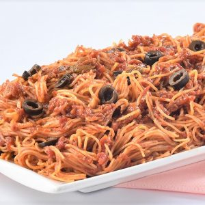 Angel Hair Puttanesca Pasta by Conti's