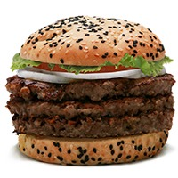 ArmyNavvy Bully Boy Burger