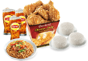 Chow King Family Lauriat 6pcs Set