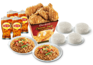 Chow King Family Lauriat 8pcs Set