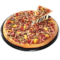 Greenwich's pizza with no pork toppings