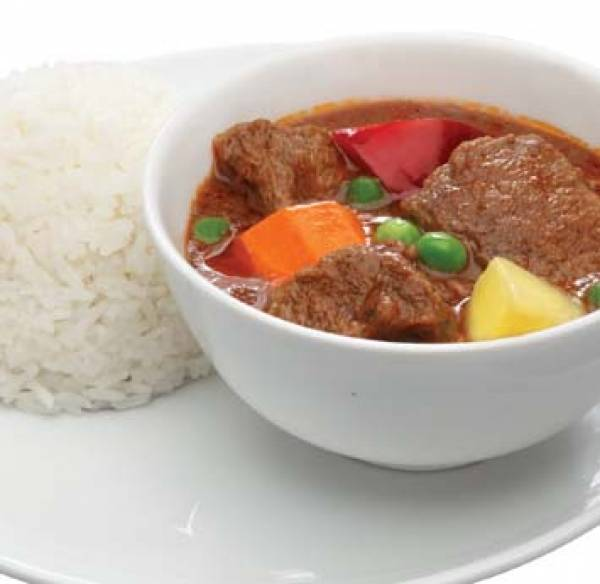 Beef Caldereta with rice x2