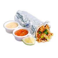 ArmyNavy Chicken Burrito