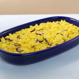 Saffron Mushroom Rice by Conti's